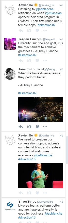 Direction 16: Aubrey Blanche