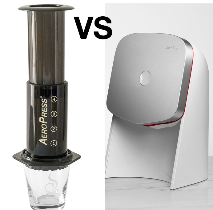 Two Products: AeroPress versus Juicero