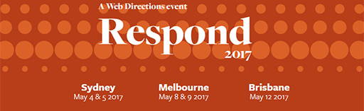 CSS, HTML, SVG at Respond 17