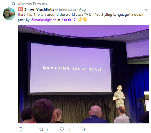Code 17 in 100 Tweets: Mark Dalgleish