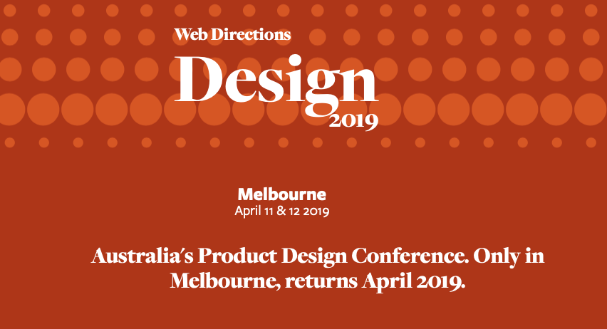 Web Directions Product